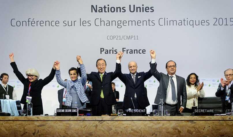 175个国家签署《巴黎协定》